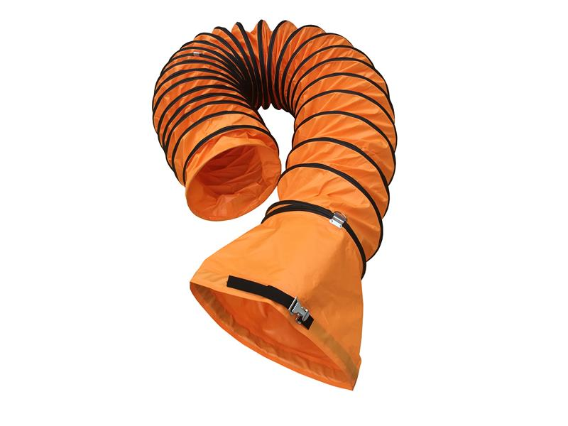 Flexible Duct Hose with Buckle and Belt Coupling
